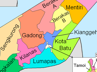 Brunei and Muara