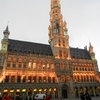 Brussels Town Hall Night View