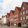 Panoramic View Of Bryggen
