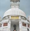 Buddha Statue At Shanti Stupa