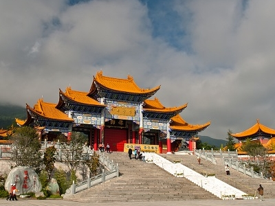 Buddhist Pagodas In Dali