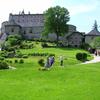 Burg Hohenwerfen Park