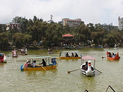 Burham Park-  Baguio City