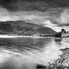 B/W Glencoe Village View