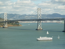 A Scenic View Of The Bay Bridge