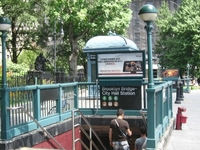 Brooklyn Bridge City Hall Station