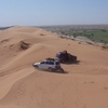 Big Red Sand Dune In Park