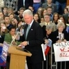 Bill Clinton Speaking At Henry Memorial Center