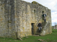 Black Middens Bastle House
