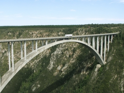 Bloukrans Bridge From The North