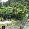 Swingbridge Across Gunner River