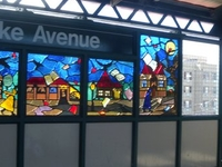 Burke Avenue IRT White Plains Road Line Station