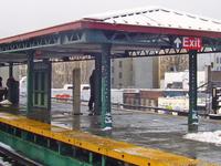 Burnside Avenue IRT Jerome Avenue Line Station