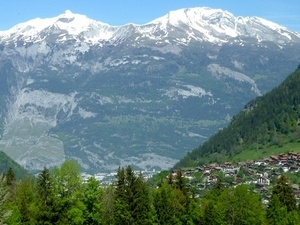 Calanda Mountain
