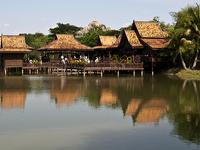 Poblado cultural camboyano