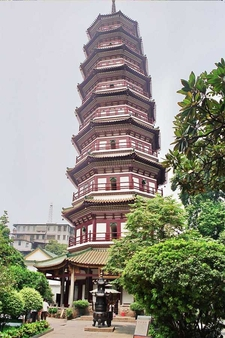The Temple Pagoda