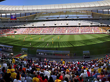 Inside The Cape Town Stadium