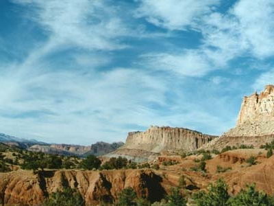 Capital Reef Blue Skies