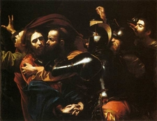 Caravaggio The Taking Of Christ