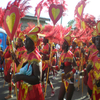 Carnival Revellers In Antigua And Barbuda
