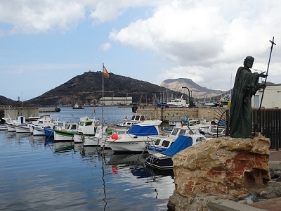 Cartagena Harbor View In Murcia Spain