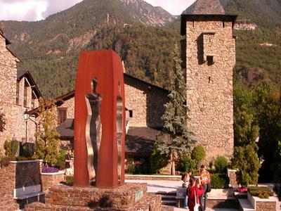 Casa De La Vall Parliament In Andorran