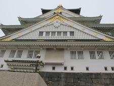 Castello Di Osaka Closeup