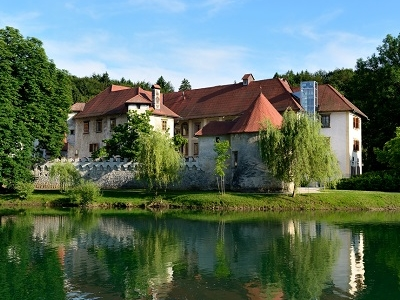 Castle Otocec In Novo Mesto