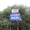 Castle Rock Signpost - Maharashtra - India