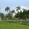 Catedral De Managua Front Park View