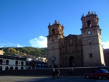 Cathedral In Puno City - Peru