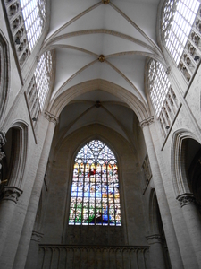 Cathedral Window From Down