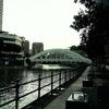 Cavenagh Bridge Over Singapore River