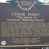 Cedar Point Historic Marker