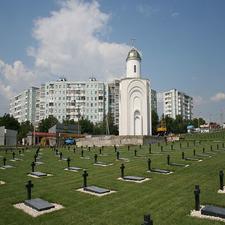 Cemetery In Transnistria