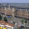 View Of Amsterdam Centraal Railway Station