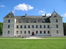 The Chateau Of Ancy-le-Franc