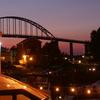 Chesapeake City Maryland Bridge At Night