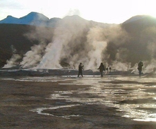 Geyser Of El-Tatio