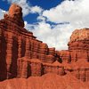 Chimney Rock At Capitol Reef