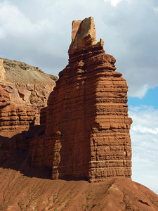 Chimney Rock - Side View