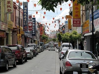 Chinatown In Georgetown - Penang