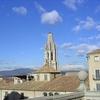 Church Tower In Girona - Catalonia Spain