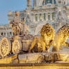 Cibeles Fountain - Downtown Madrid - Spain