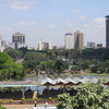 City Skyline From Uhuru Park