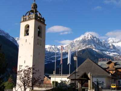 Church In Champery