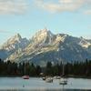 Colter Bay Boats - Grand Tetons - Wyoming - USA