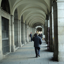 Columns Plaza Mayor