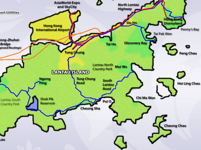 Concept  Plan For  Lantau
