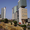Consorci De La Zona Franca In Foreground